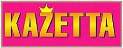 Логотип компании KAZETTA. Товары для детей и подростков
