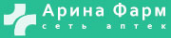 Логотип компании Арина Фарм